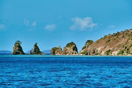 seascapes: linapacan island in Palawan Philippines