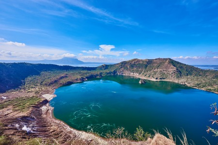 seascapes: Taal Volcano in Luzon Philippines