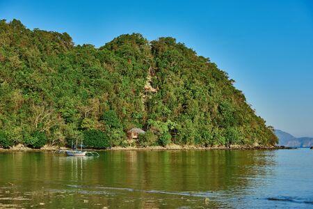nido: marimegmeg beach El Nido in Palawan Philippines