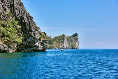 el: Cadlao island El Nido in Palawan Philippines