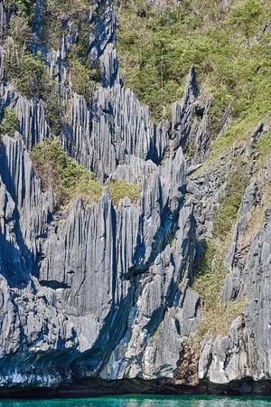 palawan: Cadlao island rocks cliff of El Nido Palawan in in Philippines