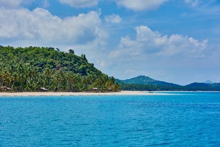 palawan: Nacapan islands beaches between El Nido and coron in Palawan Philippines Stock Photo