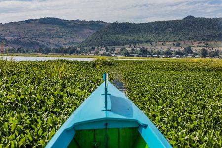 ミャンマーのインレー湖のシャン州