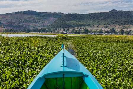 Inle Lake Shan staat in Myanmar Stockfoto