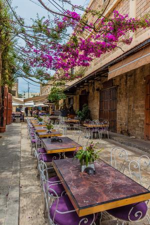 restaurants of Old Souk Byblos Jbeil in Lebanon Middle east Reklamní fotografie