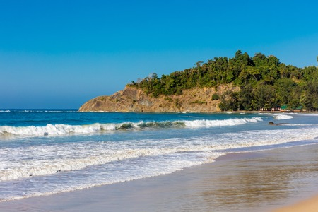Ngapali Beach near Thandwe at Rakhine state in Myanmar (Burma)