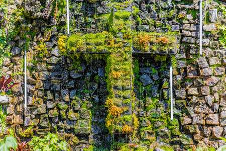 Cerro de Sanctuary of Monserrate in Bogota capital city of Colombia South America Stock fotó