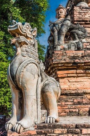 ruins of the ancient kingdom of Ava Amarapura  Mandalay state Myanmar Reklamní fotografie
