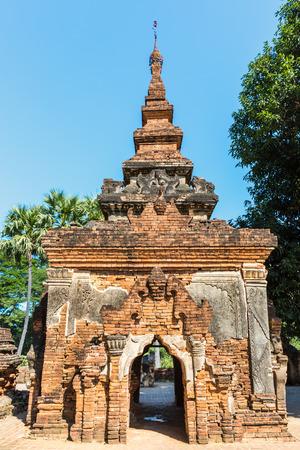ruins of the ancient kingdom of Ava Amarapura  Mandalay state Myanmar (Burma)