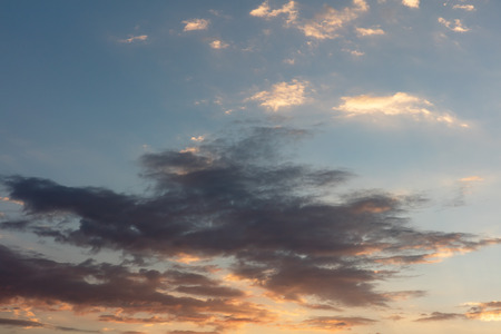 Skyscapes at sunset Caldas in Colombia South America Banco de Imagens