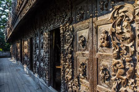 Shwenandaw Monastery Mandalay city Myanmar (Burma)