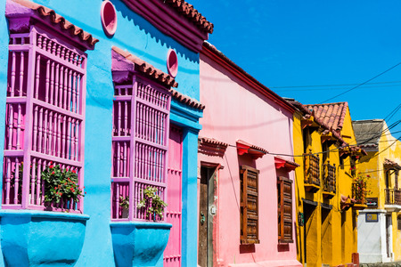 Colorful streets of Getsemani
