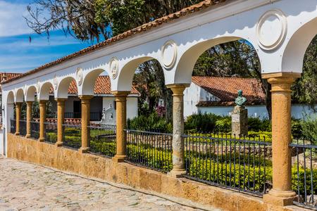 Villa de Leyva Boyaca in Colombia South America Banco de Imagens