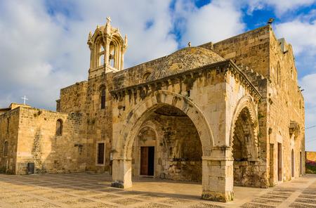 Saint John Marc Cathedral  Byblos Jbeil in Lebanon Middle east 版權商用圖片