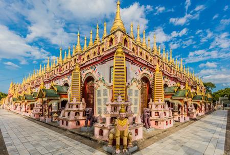 Thanboddhay Phaya vicino a Monywa Myanmar (Birmania) Archivio Fotografico