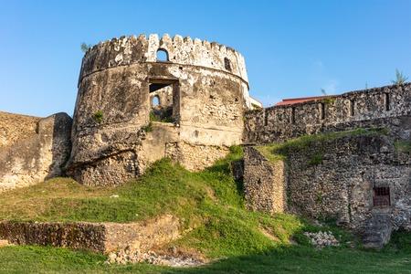 The Old Fort Ngome Kongwe Stone Town in Unguja aka Zanzibar Island Tanzania East Africa