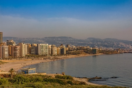 in Beirut capital city of Lebanon Middle east Фото со стока - 121655927
