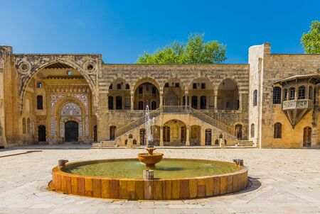 Beiteddine,Lebanon- April 28 : Emir Bachir Chahabi Palace Beit ed-Dine in mount Lebanon Middle east