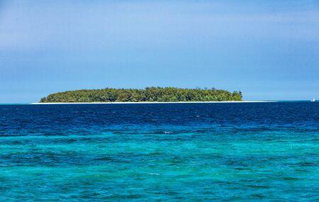 Mnemba island coastline close to Unguja aka Zanzibar Tanzania East Africa