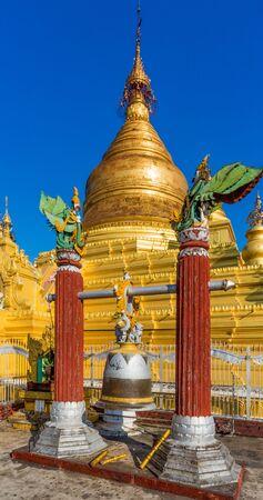Khutodaw Pagoda Mandalay city Myanmar (Burma)