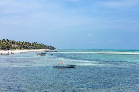 Pingwe beach in Unguja aka Zanzibar Island Tanzania East Africa