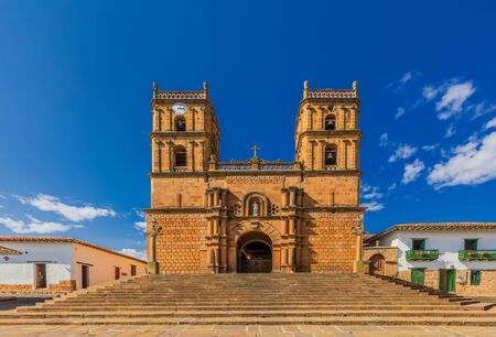 Cathedral of Barichara Santander in Colombia South America