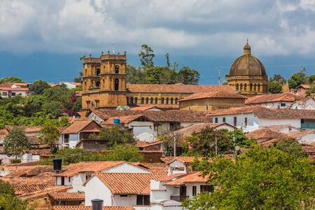 Barichara Skyline Cityscape Santander in Colombia South America