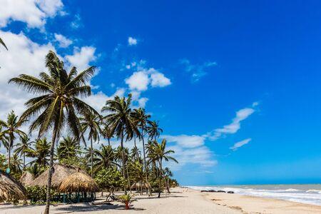 Spiaggia di Palomino a La Guajira in Colombia Sud America