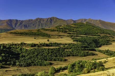 Tatev panorama landscape mountains Syunik Armenia landmark 版權商用圖片