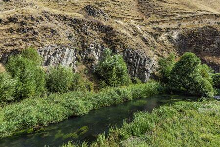Vorotan river landmark of Syunik province Armenia eastern Europe 版權商用圖片