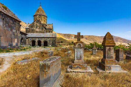 Vorotnavank church near vorotan landmark of Syunik province Armenia eastern Europe 版權商用圖片