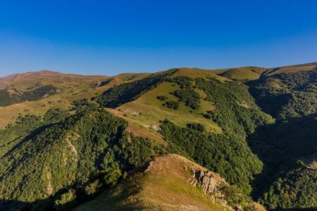 Kamyshly landscape panorama landmark of Artsakh Nagorno-Karabakh Armenia eastern Europe Stock fotó - 134752414