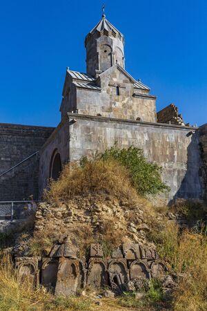 Tatev monastery landmark of Syunik province Armenia eastern Europe 版權商用圖片