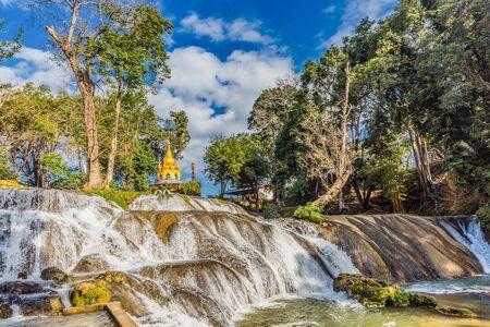 Pwe Gauk Waterfall Pyin Oo Lwin Mandalay state Myanmar