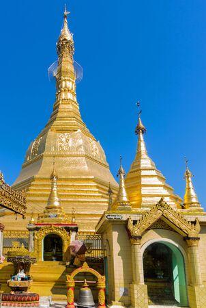 Sule Pagoda Yangon in Myanmar