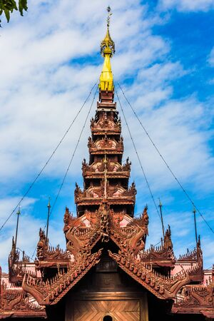Shwe In Bin Monastery Mandalay city Myanmar