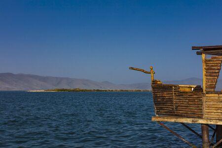 Lake Sevan sunset panorama landscape Gegharkunik Armenia landmark