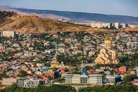 Tbilisi cityscape skyline Georgia Europe landmark