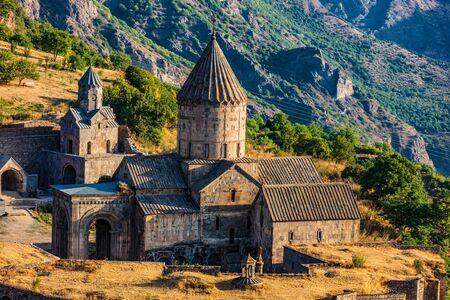 Tatev monastery Syunik Armenia landmark