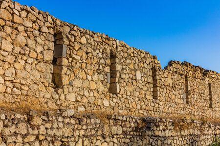 Shusha castle Artsakh Nagorno Karabakh Armenia landmark
