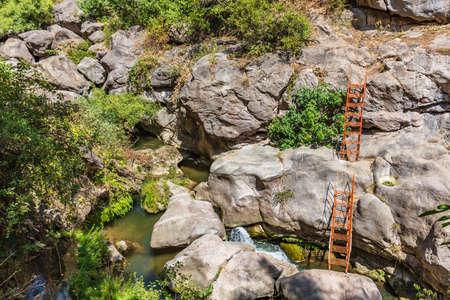 Satanayi Kamurj vorotan river Canyon Tatev Syunik Armenia landmark Stock Photo - 150893286