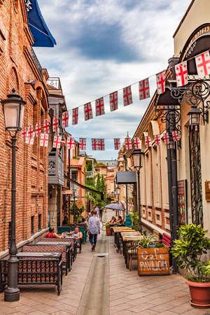old town Tbilisi Georgia Europe landmark