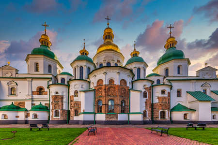 Saint Sophia Cathedral Kiev Ukraine Landmark