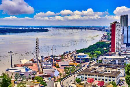 landmark of Guayaquil Ecuador in south america
