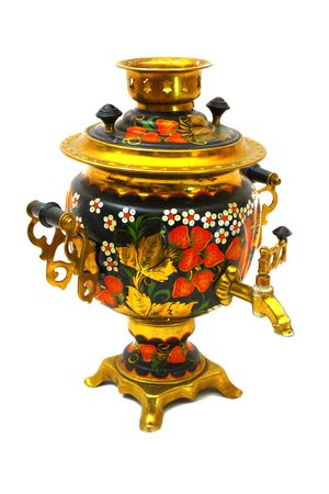 Samovar russian tea-kettle photo