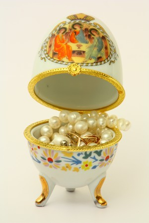 Egg jewelry pearl photo