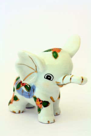 porcelain elephant figurine photo