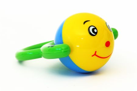 toy with a face and a smile photo