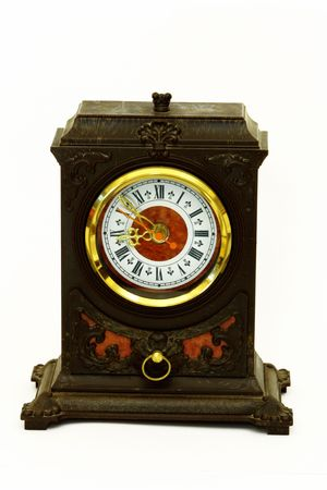 old table clock photo