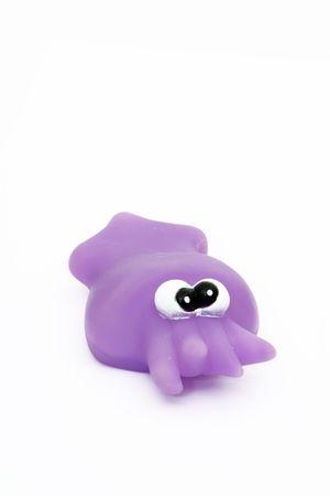 toy bath squid Stock Photo - 7661108